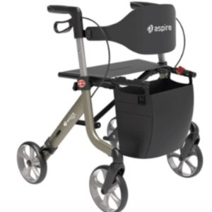 Aspire Vogue Lightweight2 Rollator / Wheelie Walker